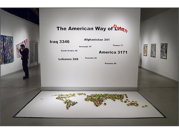 Andrew Ross - American Way of Life - installation view