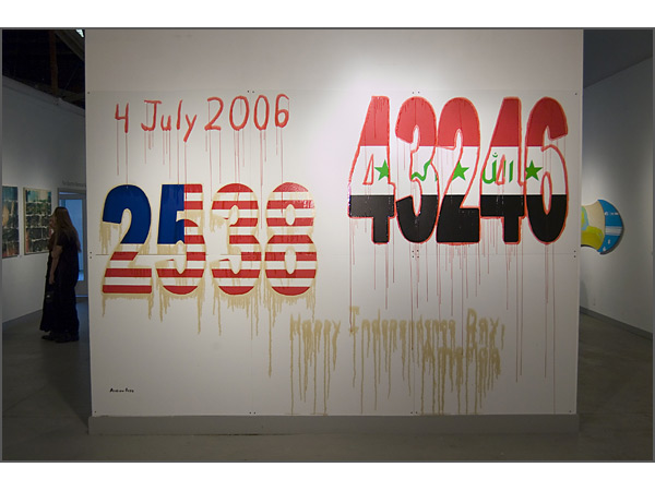 Andrew Ross - Happy Independence Day, America - installation view
